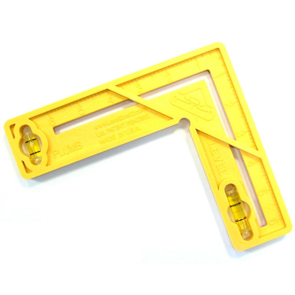 Levelbest 6in X 6in 4 In 1 Multi Tool Level Plumb Square