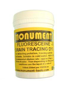 Monument 8oz Fluorescein Drain Dye - MON1267N