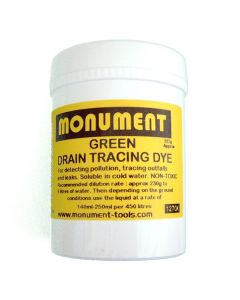 Monument 8oz Fluorescent Green Drain Dye - MON1270X
