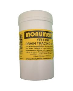 Monument 8oz Yellow Drain Dye - MON1271A