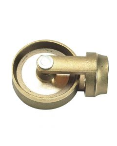 Monument Ideal Brass Clearing Wheel - MON1431O