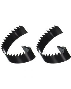 General Wire Spring 2 Piece 4in. Rotary Saw Blade (Ref:4RSB) - MON3165P