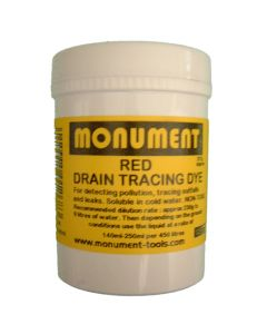 Monument 4oz Red Drain Dye - MON1261V