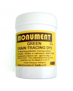 Monument 4oz Fluorescent Green Drain Dye - MON1264E