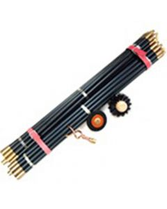 Monument 60ft. Set Ideal Drain-rods ¾In. - 20 Rods - MON1393U
